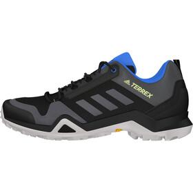 adidas TERREX AX3 Hiking Shoes Lightweight Men, core black/dgh solid grey/signal green